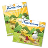 Zaner-Bloser Handwriting Grade K:  Student & Teacher Editions (Homeschool Bundle -- 2020 Copyright)