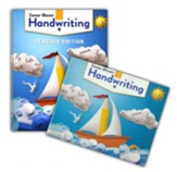 Zaner-Bloser Handwriting Grade 1:  Student & Teacher Editions (Homeschool Bundle -- 2020 Copyright)
