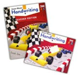 Zaner-Bloser Handwriting Grade 2:  Student & Teacher Editions (Manuscript; Homeschool Bundle -- 2020 Copyright)