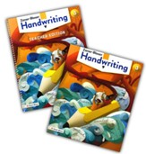Zaner-Bloser Handwriting Grade 3:  Student & Teacher Editions (Homeschool Bundle -- 2020 Copyright)