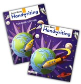 Zaner-Bloser Handwriting Grade 4:  Student & Teacher Editions (Homeschool Bundle -- 2020 Copyright)