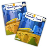 Zaner-Bloser Handwriting Grade 5:  Student & Teacher Editions (Homeschool Bundle -- 2020 Copyright)