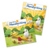 Zaner-Bloser Handwriting Grade K: Student Edition & Practice Masters (Homeschool Bundle -- 2020 Copyright)