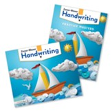 Zaner-Bloser Handwriting Grade 1:  Student Edition &  Practice Masters (Homeschool Bundle -- 2020 Copyright)
