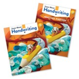 Zaner-Bloser Handwriting Grade 3:  Student Edition & Practice Masters (Homeschool Bundle -- 2020 Copyright)