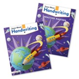 Zaner-Bloser Handwriting Grade 4:  Student Edition & Practice Masters (Homeschool Bundle -- 2020 Copyright)