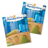 Zaner-Bloser Handwriting Grade 5: Student Edition & Practice Masters (Homeschool Bundle -- 2020 Copyright)