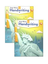 Zaner-Bloser Handwriting Grade 6:  Student Edition & Practice Masters (Homeschool Bundle -- 2020 Copyright)