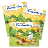Zaner-Bloser Handwriting Grade K:  Student, Teacher, & Practice Masters (Homeschool Bundle -- 2020 Copyright)