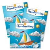 Zaner-Bloser Handwriting Grade 1: Student, Teacher, & Practice Masters (Homeschool Bundle -- 2020 Copyright)