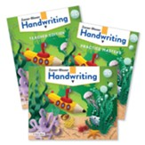 Zaner-Bloser Handwriting Grade 2C: Student, Teacher, & Practice Masters (Cursive; Homeschool Bundle; 2020  Copyright)