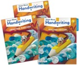 Zaner-Bloser Handwriting Grade 3: Student, Teacher, & Practice Masters (Homeschool Bundle -- 2020 Copyright)