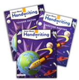 Zaner-Bloser Handwriting Grade 4: Student, Teacher, & Practice Masters (Homeschool Bundle -- 2020 Copyright)
