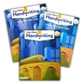Zaner-Bloser Handwriting Grade 5:  Student, Teacher, & Practice Masters (Homeschool Bundle -- 2020 Copyright)