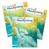 Zaner-Bloser Handwriting Grade 6: Student, Teacher, & Practice Masters (Homeschool Bundle -- 2020 Copyright)