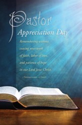 Remembering...Your Work of Faith, Labor of Love, and Patience of Hope... (1 Thessalonians 1:3, NKJV) Bulletins, 100