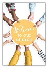 Welcome to Our Church (Romans 15:13) Welcome Folders, 12