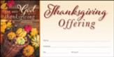 Offer Unto God Thanksgiving (Psalm 50:14, KJV) Offering Envelopes, 100