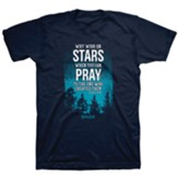 Stars In The Sky Shirt, Navy, X-Large