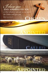 I Chose You and Appointed You... (John 15:16, NIV) Bulletins, 100