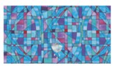 Stained Glass Altar Frontal, Blue