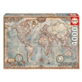 The World Executive Map. 4000 Pieces