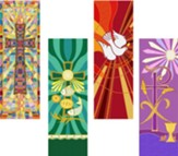 Tapestry Series X-Stand Banner Set of 4