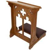 Windsor Kneeler - Medium Oak Stain