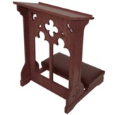Windsor Kneeler - Walnut Stain