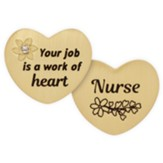Nurse, Heart, Pocket Token