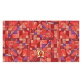 Stained Glass Altar Frontal, Red