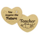 Teacher, Heart, Pocket Token