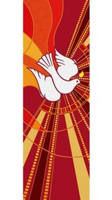 Dove Tapestry X-Stand Banner