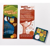 Owl, Who Are You, Jumbo Activity Card