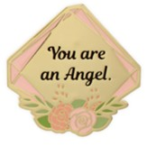 You Are An Angel Visor Clip