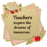Teachers Inspire the Dreams of Tomorrow Visor Clip