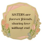 Sisters Are Forever Friends Visor Clip