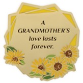 A Grandmother's Love Lasts Forever Visor Clip