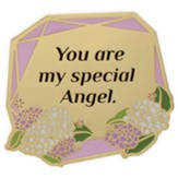 You Are My Special Angel Visor Clip