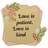 Love Is Patient, Love Is Kind Visor Clip