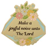 Make A Joyful Noise Unto the Lord Visor Clip