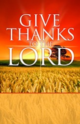 Give Thanks to the Lord Bulletins, 100