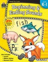 Ready Set Learn: Beginning and  Ending Sounds (Grades K and 1)
