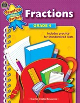 Practice Makes Perfect: Fractions  (Grade 4)