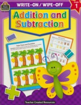 Write On/Wipe Off: Addition and  Subtraction