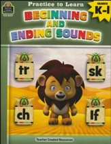 Practice to Learn: Beginning and  Ending Sounds (Grades K and 1)