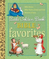 Little Golden Book Bible Favorites - eBook