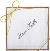 Have Faith Boxed Handkerchief