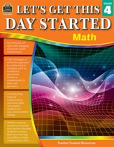 Let's Get This Day Started: Math  (Grade 4)