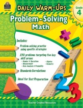 Daily WarmUps: Problem Solving Math  (Grade 4)